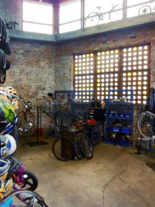 Inside the Blackstone Bicycle Works