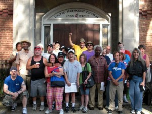 Union Ave Methodist Church Hunger Walk
